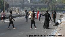 Irak Proteste in Bagdad - Ausgangssperre