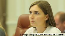 Ukraine Bildungsministerin Hanna Novosad
