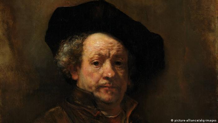 Autoretrato de Rembrandt, año 1660.