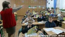 Ukraine Schüler lernen Ukrainisch