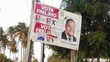 Mosambik Wahlkampagne