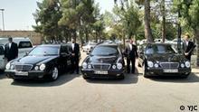 Teherans Friedhof kauft drei neue Mercedes für reiche und VIP- Verstorbenen. Quelle: YJC Lizenz: Frei