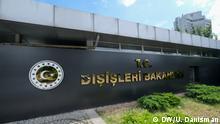 The Ministry of Foreign Affairs of the Republic of Turkey (Dışişleri Bakanlığı ) in Turkey, August 2019