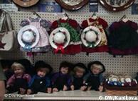 Един от магазините в амишката общност