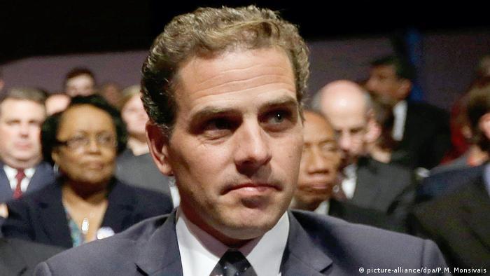 Хантер Байден, сын бывшего вице-президента США Джо Байдена