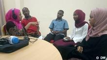Sansibar Jugendliche im DW interview mit Salma Said