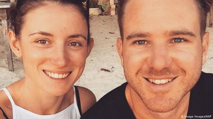 Jolie King & Mark Firkin, im Iran festgenommene Australier