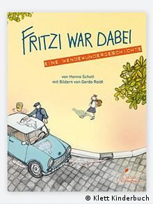 The front cover of 'Fritzi war dabei' or 'Fritzi was there too' in English (Klett Kinderbuch)