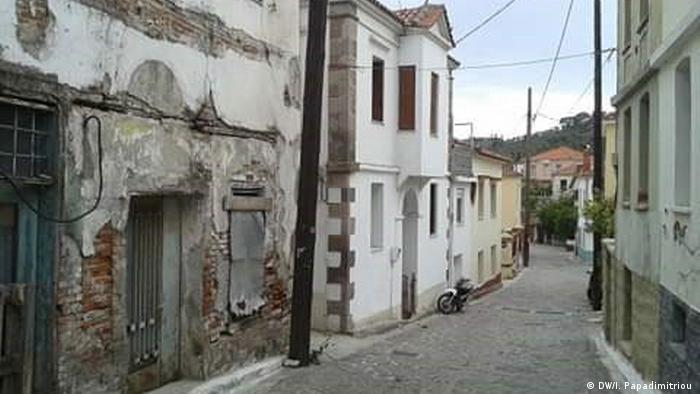Uske uličice sela Moria na Lesbosu