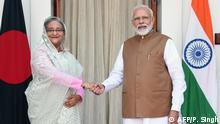 Indien Besuch der Premierministerin von Bangladesch Sheikh Hasina