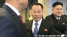 N. Korea nuclear envoy in Sweden North Korean nuclear envoy Kim Myong Gil C arrives at Arlanda airport near Stockholm, Sweden, on Oct. 3, 2019. PUBLICATIONxINxGERxSUIxAUTxHUNxONLY