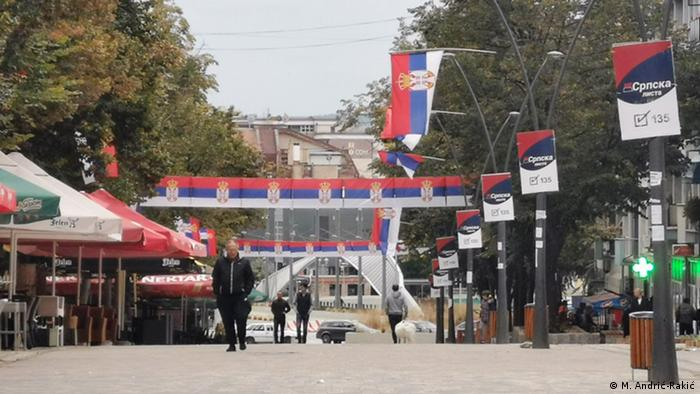 Kosovo Wahlen in Mitrovica