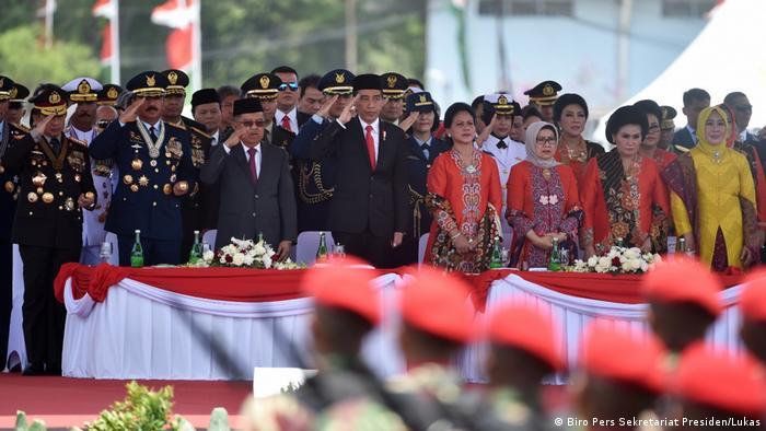 Indonesien Jakarta 74-jähriges Jubiläum der indonesischen Streitkräfte TNI