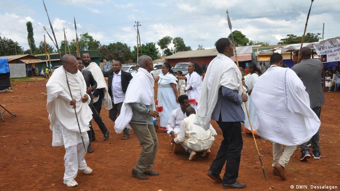 Äthiopien Neujahrsfest der Shinasha