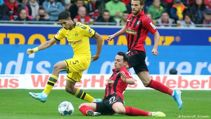 Borussia Dortmund's Achraf Hakimi
