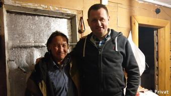 Шаман Александр Габышев и правозащитник Алексей Прянишников