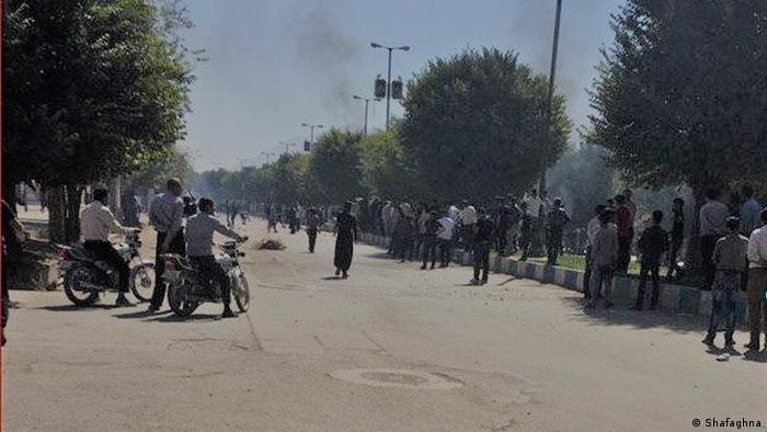 Iran Protest in Lordegan