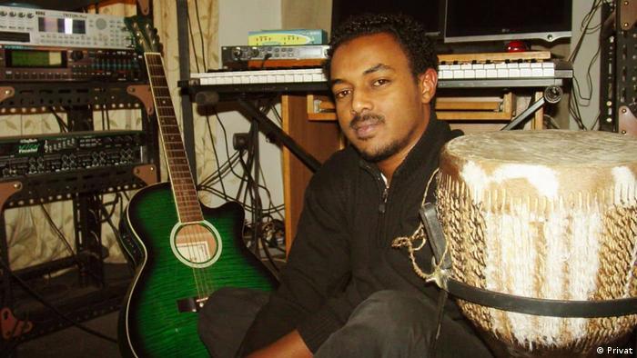 Äthiopien Musiker Elias Melka