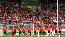 Fußball Dreisam-Stadion SC Freiburg Fans