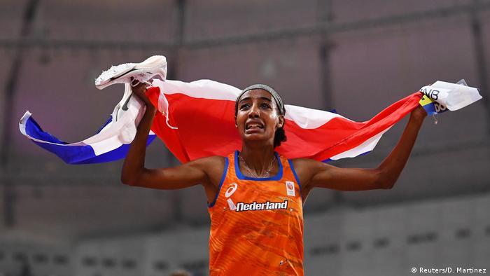 Leichtathletik-WM Doha 2019 Frauen Finale 1500 Meter Sifan Hassan