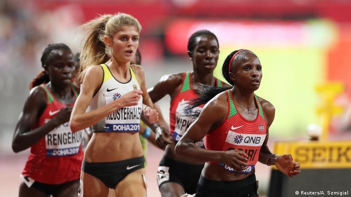 Leichtathletik-WM Doha 2019 Frauen Finale 5000 Konstanze Klosterhalfen