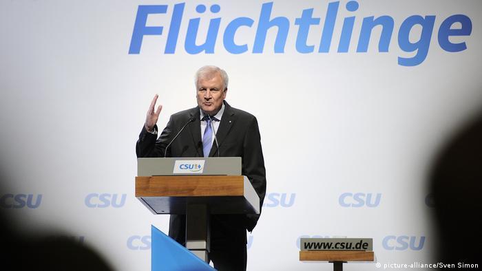 Deutschland Horst Seehofer in Erding