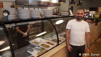 Kafe işletmecisi Gökhan Çam