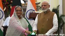 Indien Neu Delhi | Hasina Wajed, Premierministerin Bangladesch & Narendra Modi