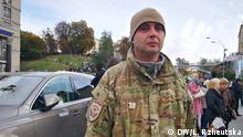 Ukraine Kiew | Proteste gegen Steinmeier-Formel