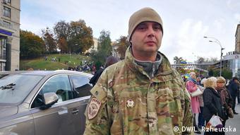 Колишній боєць батальйону Київська Русь Ігор Черненко