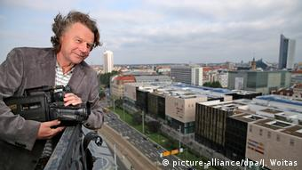 Siegbert Schefke deutscher Journalist (picture-alliance/dpa/J. Woitas)