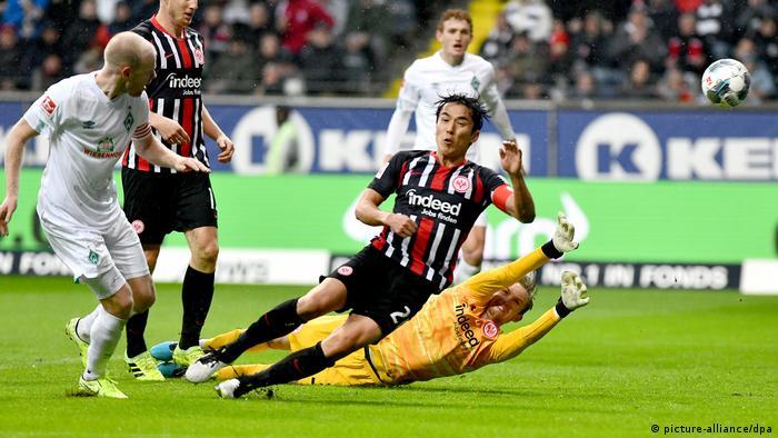 Eintracht Frankfurt - Werder Bremen (picture-alliance/dpa)