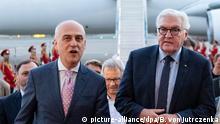 Bundespräsident Steinmeier in Georgien