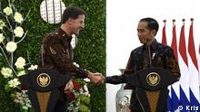Präsidentenpalast in Bogor West Java Indonesia