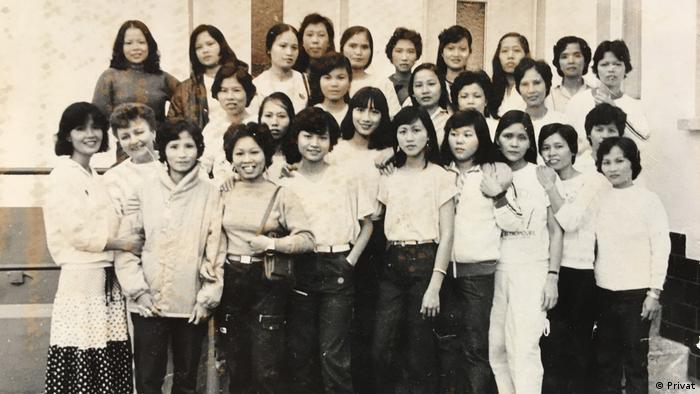 Ehemalige vietnamesische Vertragsarbeiterinnen in DDR