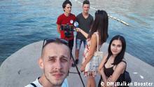 Balkan-Booster-Trio an der Adria-Küste