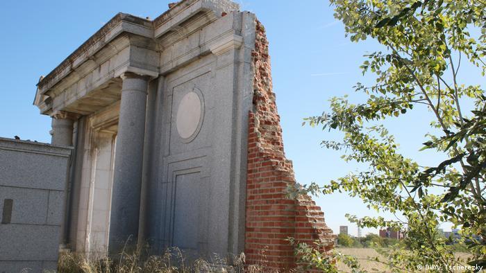 Врата ада - руины тюрьмы Карабанчель