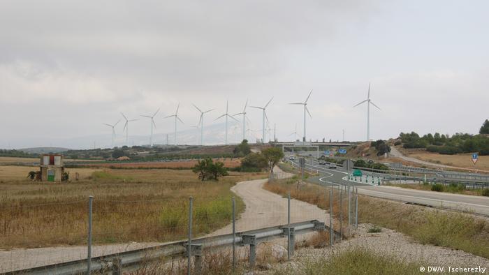 Ветропарк в Испании
