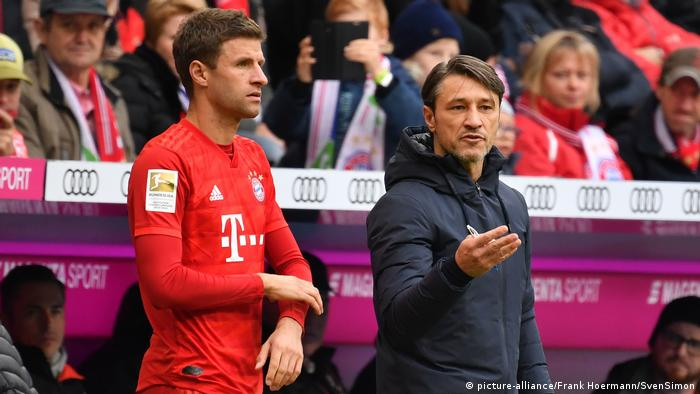 Thomas Müller and Niko Kovac had a difficult relationship (picture-alliance/Frank Hoermann/SvenSimon)
