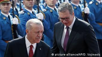 Erdogan i Vučić u Beogradu 2019. godine