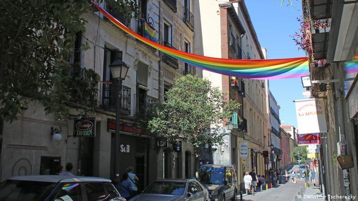 Район Ла Чуэка в Мадриде