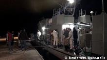 Italien Lampedusa Hafen | Rettung von Flüchtlingen
