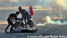 Irak gewaltsame Proteste