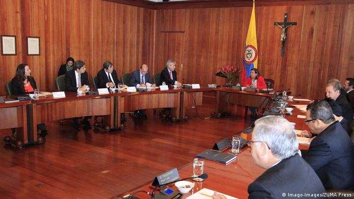 Kolumbien Symbolbild Oberster Gerichtshof (Imago-Images/ZUMA Press)