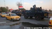 Irak Bagdad Proteste gegen Regierung | Sicherheitskräfte