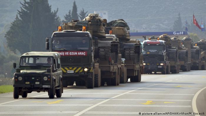 Türkiye'nin Suriye sınırında hazırlıklar sürüyor (Arşiv fotoğrafı)