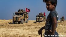 Syrien Türkische Militärpatrouille