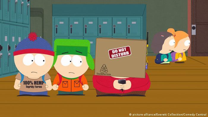 Герои мультфильма South Park