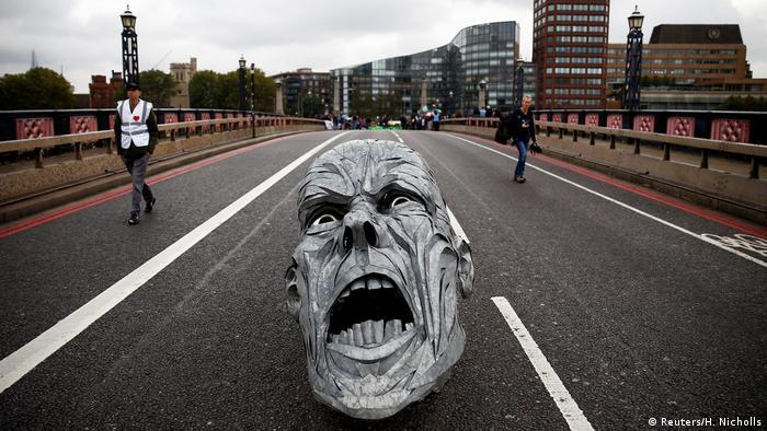 BdTD | Bild des Tages deutsch | Extinction Rebellion-Protest in London (Reuters/H. Nicholls)