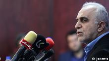 Iran Wirtschaftsminister Farhad Dejpasand